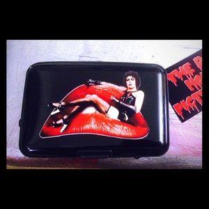 Handbags - Black rocky horror card wallet